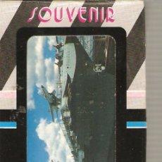 Barajas de cartas: BARAJA NAIPES CARTAS - SOUVENIR INTREPID. Lote 16465193