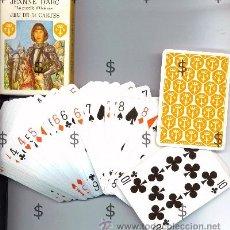Barajas de cartas: BARAJA FRANCESA JEANNE D'ARC - 54 CARTAS - POKER. Lote 26360873