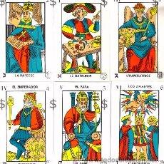 Barajas de cartas: TAROT DE MARSELLA - JUEGO DE CARTAS. Lote 184499392