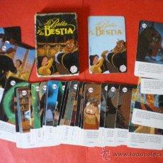 Barajas de cartas: BARAJA LA BELLA Y LA BESTIA WALT DISNEY HERACLIO FOURNIER. Lote 27231175