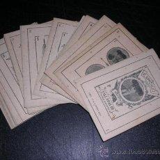 Barajas de cartas: MUY RARA BARAJA DE TAUROMAQUIA - C. GONZALEZ 1902 , VALLADOLID, IMP. LA LIBERTAD , 39 CARTAS . Lote 26801510