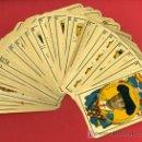 Barajas de cartas: BARAJA TAURINA , ESPAÑOLA, ANTIGUA ,CON 46 CARTAS A FALTA DE 2, 1916 ,REVERSO AZUL. Lote 27498857
