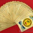 Barajas de cartas: BARAJA ESPAÑOLA SIMEON DURA VALENCIA COMPLETA, SIN SELLO, SIGLO XIX , 40 NAIPES,REVERSO AZUL. Lote 27498867