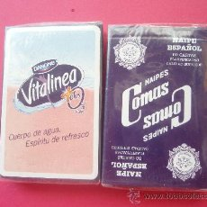 Barajas de cartas: JUEGOS DE CARTAS DE LA CASA DANONE NUEVA SIN ABRIR. Lote 27566148