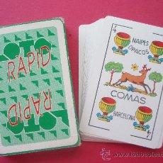 Barajas de cartas: JUEGOS DE CARTAS DE LA CASA LOTO RAPID. Lote 27566149
