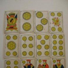 Barajas de cartas: BARAJA DE SEBASTIAN COMAS Y RICART,BARCELONA. Lote 17471421