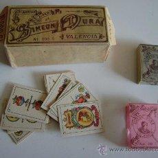 Barajas de cartas: MAZO DE 12 BARAJAS.INFANTIL DE SIMEON DURA Nº 000G.AÑO 1900. Lote 19346311