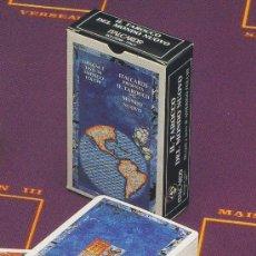 Barajas de cartas: TAROT-ITALCARDS-BOLOGNA -TAROCCO DEL MONDO NUOVO-DISEGNI DI ANERIGO FOLCHI-1991-PERFECTA. Lote 20722325
