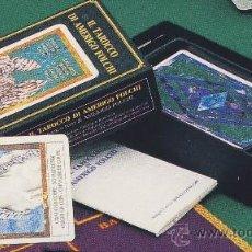 Barajas de cartas: TAROT-ITALCARDS-BOLOGNA -IL TAROCCO DI ANERIGO FOLCHI-1991-EDICION LIMITADA Y NUMERADA PERFECTA. Lote 20722326