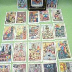 Barajas de cartas: TAROT-ITALCARDS-BOLOGNA -IL TAROCCHI DELLA TOSCANA 22 TRIUNFOS DISEÑO DE ANERIGO FOLCHI-1992. Lote 20722327