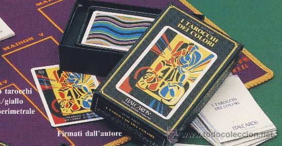 TAROT-ITALCARDS-BOLOGNA -I TAROCCHI DEI COLORI DISEÑO -ELENA ASSANTE -EDICION LIMITADA- 1991 (Juguetes y Juegos - Cartas y Naipes - Barajas Tarot)