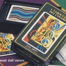 Barajas de cartas: TAROT-ITALCARDS-BOLOGNA -I TAROCCHI DEI COLORI DISEÑO -ELENA ASSANTE -EDICION LIMITADA- 1991. Lote 20722329