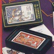 Barajas de cartas: TAROT-ITALCARDS-BOLOGNA -IL TAROCCO DI COLOMBO DISEÑO DE AMERIGO FOLCHI -EDICION LIMITADA- 1991. Lote 20722330