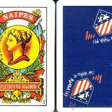 Barajas de cartas: ATLETICO DE MADRID - BARAJA ESPAÑOLA DE 40 CARTAS. Lote 37718259