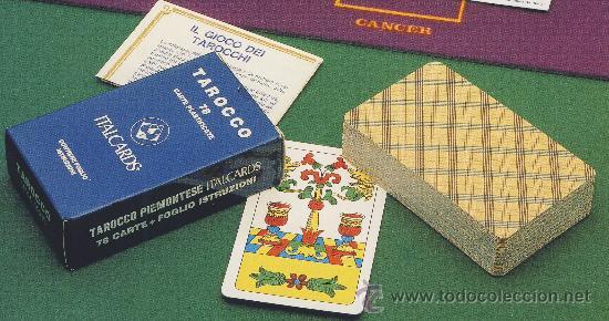TAROT-ITALCARDS-BOLOGNA - TAROCCO PIEMONTESE 78 CARTAS+FOLLETO DE INSTRUCCIONES (Juguetes y Juegos - Cartas y Naipes - Barajas Tarot)