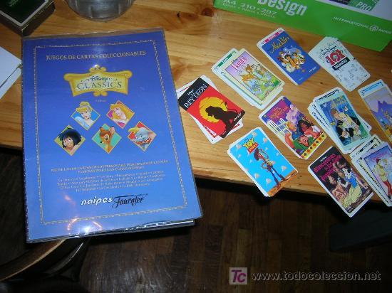DISNEY CLASSICS BARAJA CROMOS COMPLETA NUEVA A ESTRENAR (Juguetes y Juegos - Cartas y Naipes - Barajas Infantiles)