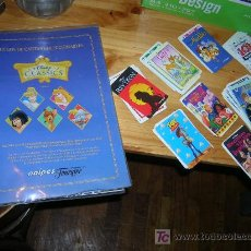 Barajas de cartas: DISNEY CLASSICS BARAJA CROMOS COMPLETA NUEVA A ESTRENAR. Lote 24855133