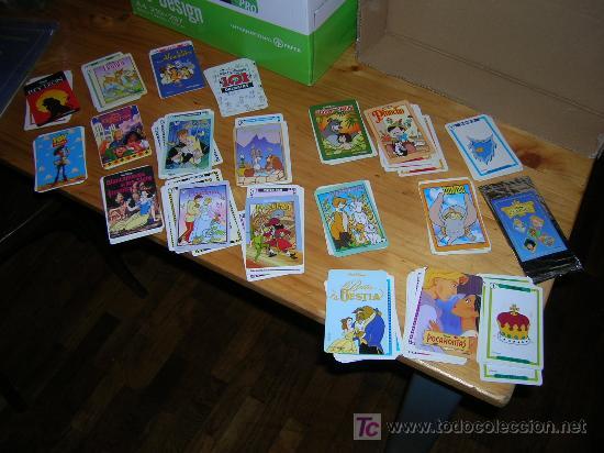 Barajas de cartas: DISNEY CLASSICS BARAJA CROMOS COMPLETA NUEVA A ESTRENAR - Foto 2 - 24855133