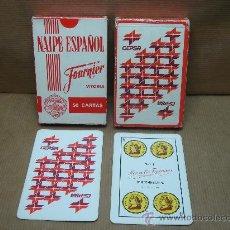 Barajas de cartas: BARAJA DE CARTAS HERACLIO FOURNIER - PUBLICIDAD DE CEPSA - D.L. VI 9-1962. Lote 26962131