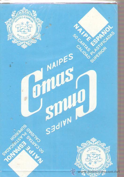 BARAJA NAIPES CARTAS - NAIPES COMAS - MIRO (Juguetes y Juegos - Cartas y Naipes - Otras Barajas)