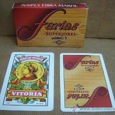 Barajas de cartas: BARAJA DE CARTAS HERACLIO FOURNIER - PUBLICIDAD FARIAS SUPERIORES - COMPLETA. Lote 26627923