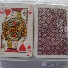 Barajas de cartas: 2 BARAJAS LILIPUT DE PÓKER. FOURNIER. ESTAMPADO ROJO. CON CAJA ORIGINAL. . Lote 18666826
