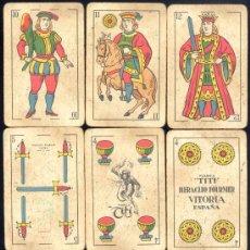 Barajas de cartas: BARAJA DE CARTAS COMPLETA -HERACLIO FOURNIER .-MARCA TITI. Lote 18309327