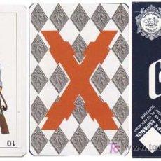 Barajas de cartas: BARAJA COMAS. BARAJA CARLISTA ¡ SIN USAR ! - NAIPE ESPAÑOL DE 40 CARTAS . Lote 18453241