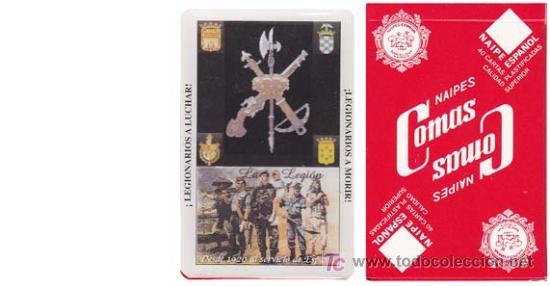 BARAJA COMAS. BARAJA DE LA LEGION ¡ SIN USAR ! - NAIPE ESPAÑOL DE 40 CARTAS (Juguetes y Juegos - Cartas y Naipes - Baraja Española)
