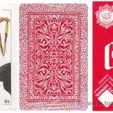 Barajas de cartas: BARAJA COMAS. BARAJA TAURINA