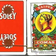 Barajas de cartas: CAFES SOLEY - BARAJA ESPAÑOLA 50 CARTAS. Lote 18590431