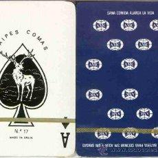 Barajas de cartas: AMC - BATERIA DE COCINA BARAJA DE POKER. Lote 18590739