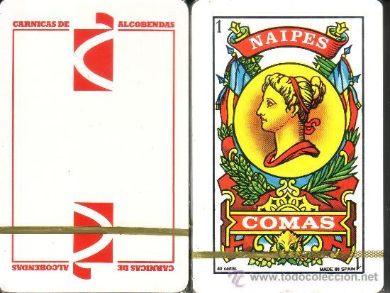 CARNICAS DE ALCOBENDAS - BARAJA ESPAÑOLA DE 40 CARTAS (Juguetes y Juegos - Cartas y Naipes - Baraja Española)
