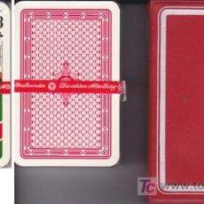 Barajas de cartas: BARAJA SKAT CON ESTUCHE DE PLASTICO. ¡ SIN USAR ! - NAIPE POKER DE 32 CARTAS . Lote 18699481