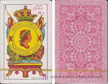 BARAJA COMAS. BARCELONA. ¡ SIN USAR ! - NAIPE ESPAÑOL DE 40 CARTAS (Juguetes y Juegos - Cartas y Naipes - Baraja Española)