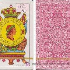 Barajas de cartas: BARAJA COMAS. BARCELONA. ¡ SIN USAR ! - NAIPE ESPAÑOL DE 40 CARTAS . Lote 18699582