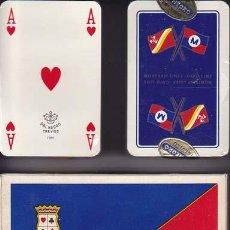 Barajas de cartas: BARAJA DAL NEGRO. ESTUCHE CON 2 BARAJAS. ¡ SIN USAR ! - NAIPE POKER DE 40 CARTAS . Lote 18715751