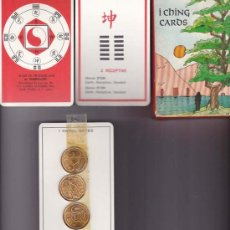 Barajas de cartas: BARAJA I CHING. ¡ SIN USAR ! - NAIPE DE 80 CARTAS. Lote 18833474
