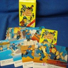 Barajas de cartas: - LOCA ACADEMIA DE POLICÍA - 33 CARTAS - JUEGO INFANTIL TALLERES FOURNIER 1990 MADE IN SPAIN. Lote 26390127