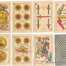 Barajas de cartas: AÑOS 50.- BARAJA COMPLETA. Lote 18952090