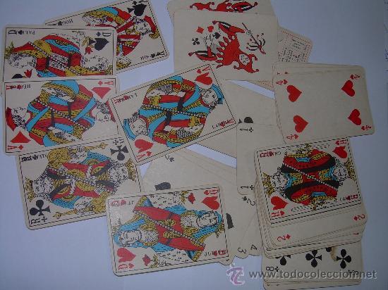 ANTIGUA BARAJA DE CARTAS COMPLETA. (Juguetes y Juegos - Cartas y Naipes - Otras Barajas)