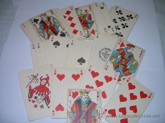 Barajas de cartas: ANTIGUA BARAJA DE CARTAS COMPLETA. - Foto 2 - 56153038