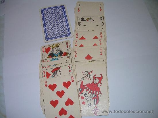 Barajas de cartas: ANTIGUA BARAJA DE CARTAS COMPLETA. - Foto 3 - 56153038