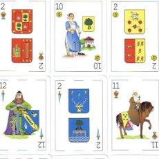 Barajas de cartas: BARAJA ESPAÑOLA HERALDICA-FOURNIER-AÑO 2010. Lote 143545322
