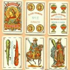 Barajas de cartas: BARAJA DE NAIPES ANTIGUA DE HERACLIO FOURNIER. Lote 19443891
