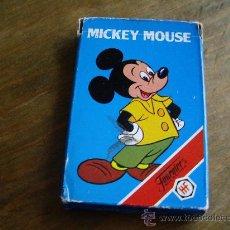 Barajas de cartas: BARAJA INFANTIL HERACLIO FOURNIER -MICKEY MOUSE,AÑOS 70. Lote 19544969