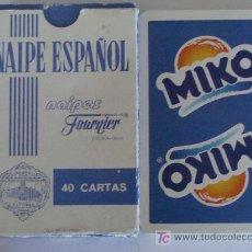 Jeux de cartes: BARAJA DE CARTAS ESPAÑOLA. FOURNIER. MIKO. HELADOS. HELADO. 40 NAIPES. . Lote 19646046