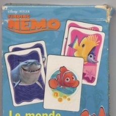 Jeux de cartes: BARAJA CARTAS *BUSCANDO A NEMO* - DISNEY - PIXAR. Lote 20922807