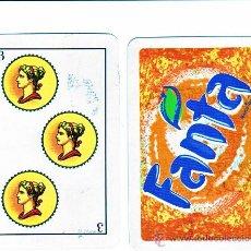 Barajas de cartas: BARAJA ESPAÑOLA DE FANTA 40 CARTAS SIN ESTRENAR. Lote 20193129