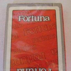 Jeux de cartes: BARAJA DE CARTAS ESPAÑOLA. FORTUNA. TABACOS. PRECINTADA. 40 NAIPES. FOURNIER. . Lote 20336023